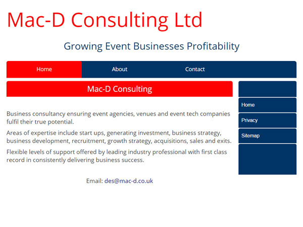 Mac-D Consulting